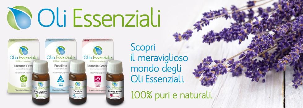 Oli Essenziali - Erboristeria Magentina