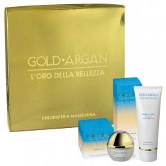 Cofanetto Gold Argan Crema Viso + Crema Corpo