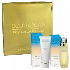 2-Pcs Argan Gift Set - Massage Oil + Body Cream