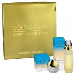 2-Pcs Argan Gift Set - Face Cream + Massage Oil