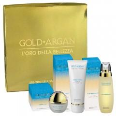 Cofanetto Gold Argan Crema Viso + Olio Massaggio + Crema Corpo