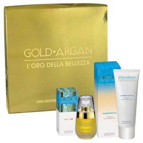 Cofanetto Gold Argan Shampoodoccia + Olio Puro
