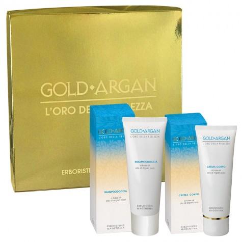 Cofanetto Gold Argan Shampoodoccia + Crema Corpo