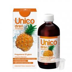 Unico Dren - con estratto e succo concentrato di Ananas