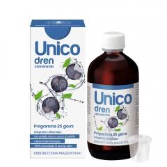 Unico Dren - con estratto secco e succo di Mirtillo
