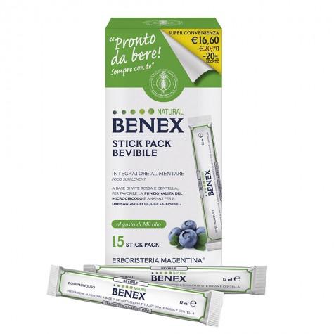 Stick Pack Bevibile Natural Benex