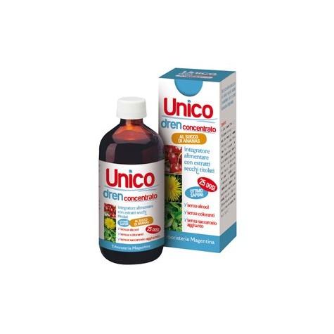 Unique Detox - Diuretic Concentrate Pineapple 250 ml
