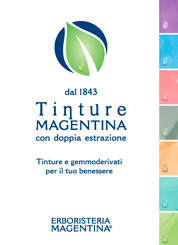 Download PDF Brochure: Tincture Range