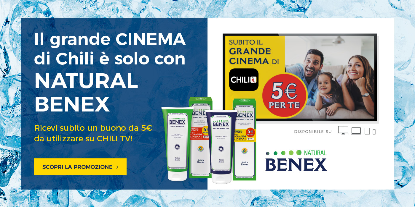 Promo Natural Benex & Chili Cinema